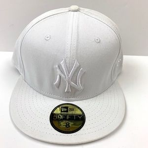 SOLD New York Yankees New Era Cap Triple White